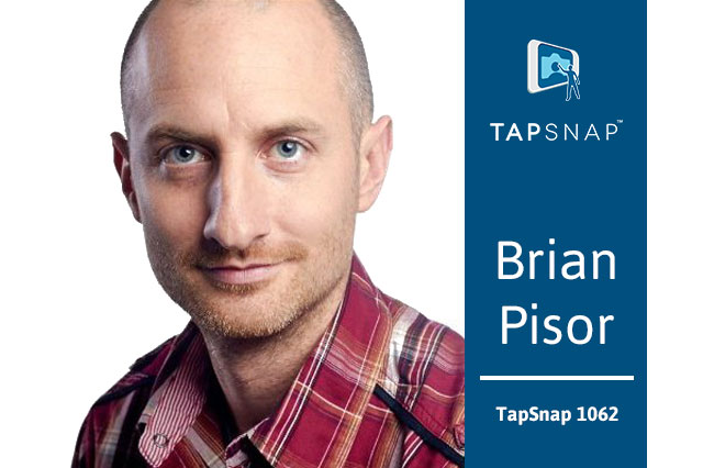 Picture of Brian Pisor, owner of TapSnap 1062