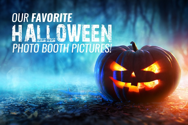 Our Favorite Halloween Photo Booth Pictures!