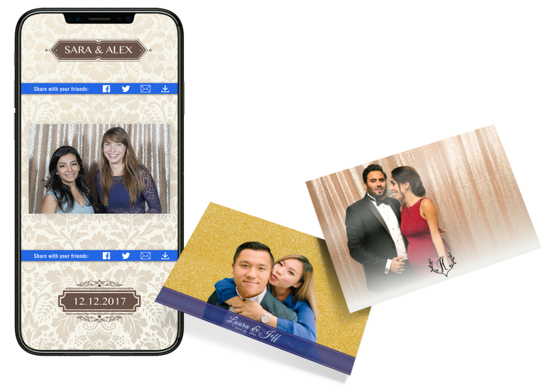 photo booth with unlimited customization