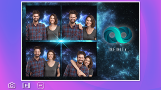 photo booth with GIF collage