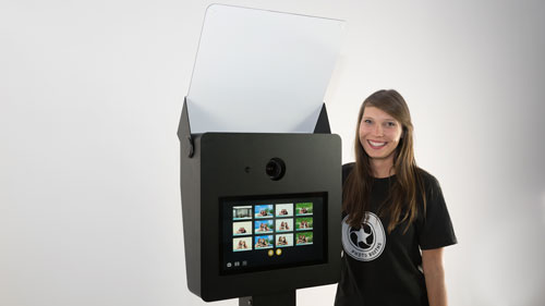 touch screen photo booth for sale