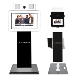 Branded photo booths for retail